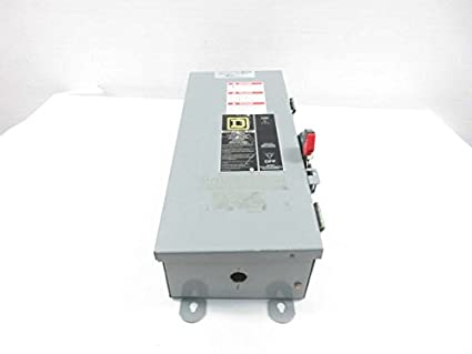 Square D Fa100awk Fcl34015 15a 480v Ac 3p Breaker Disconnect Switch