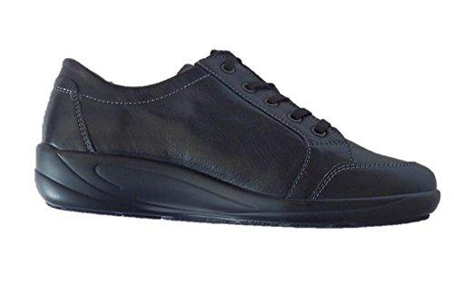 Semler Sneaker Schnürschuhe Damen schwarz Weite K