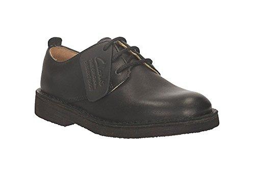 Clarks Junior Noir Desert London Chaussures
