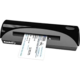 Small USB Powered Sheet-fed Card & Id Scanner.