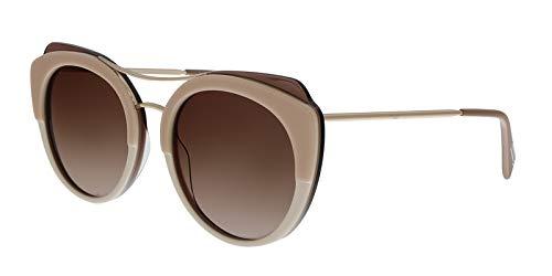 Just Cavalli JC723S 59G Beige/Ivory Cat Eye Sunglasses for Womens (Just Cavalli Glasses)