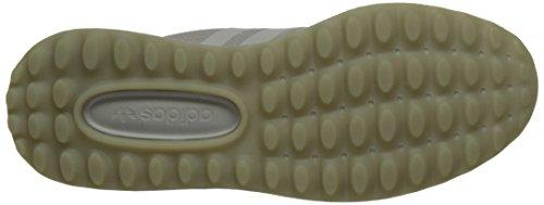 adidas Angeles, Scarpe da Ginnastica Basse Uomo Grigio (Lgh Solid Grey/Lgh Solid Grey/Lgh Solid Grey)