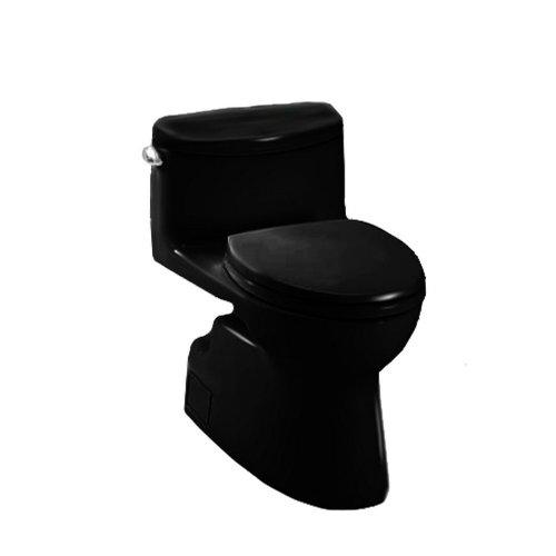 Toto MS644114CEF#51 Carolina-2 One-Piece High-Efficiency Toilet, 1.28GPF, (Carolina One Piece Elongated Toilet)