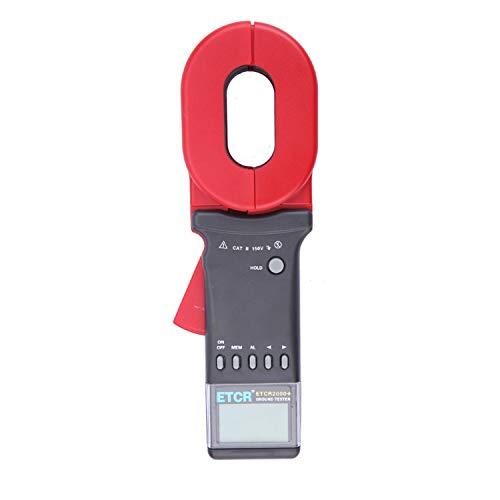 Digital meter- Ground Earth Resistance Meter Tester ,Digital Clamp Meter,with Data Storage Function Alarm System,Resistance Range: 0.01~1200Ω ETCR2000+, Amp Ohm Volt Meter: DIY & Tools