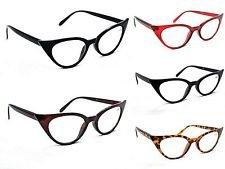 GF59 Retro 1950s 1960s Cat Eye Vintage Fashion Stylish Eyeglasses GF57