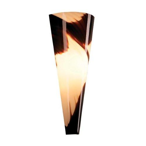 ET2 Lighting E20180-34 Sundae Wall Sconce, Chrome