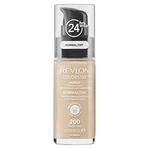 ColorStay Foundation Normal/Dry Skin by Revlon 200 Nude SPF20 30ml