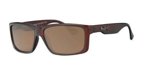 revex polarizadas deportivo Hombre Gafas de sol Sport Biker Cilindro de gafas con bolsa marrón talla