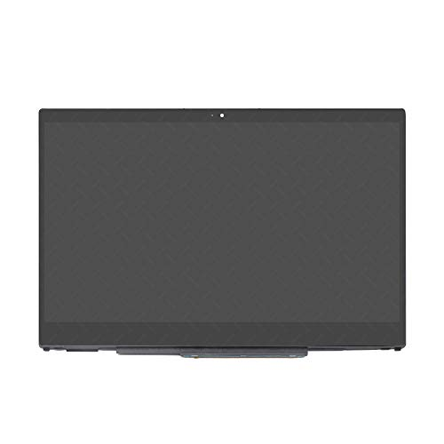LCDOLED Replacement 15.6 inches FHD 1080P IPS LCD Display Touch Screen Digitizer Assembly Bezel with Controller Board for HP Pavilion x360 15-cr0081cl 15-cr0083cl 15-cr0085cl 15-cr0087cl 15-cr0088cl
