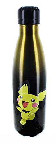 JUST FUNKY Pokemon OFFICIAL Pichu PREMIUM Stainless Steel Water Bottle, 19oz]()