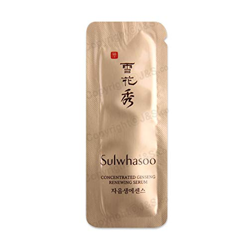 (30ea X Sulwhasoo Concentrated Ginseng Renewing Serum 1ml)