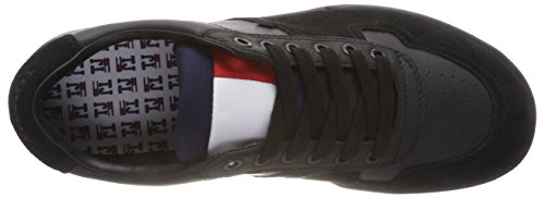 Basses Homme Noir Sneakers Jeans Sneaker 990 Basket Tommy black qBP7x