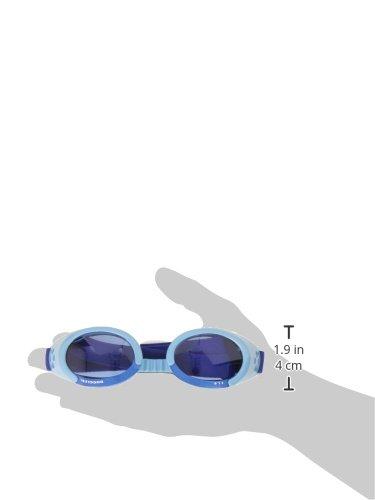 Doggles ILS Medium Shiny Blue Frame with Blue Lens Dog Goggles