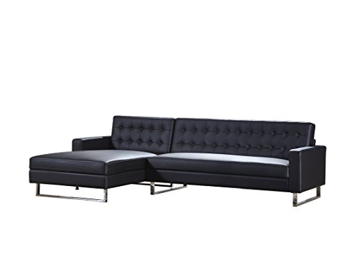 Container direct dorris collection modern button tufted for Button tufted chaise settee