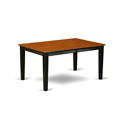 31UX1nYeI1L - East West Furniture Rectangular Dining Table