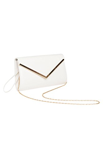 Ardene - Women's - Clutches - Faux Leather Envelope Clutch O/S -(8A-WL00107) by Ardene