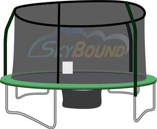 Buy 14 ft trampoline net