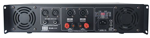 MUSYSIC 2 Channel 3200 Watts DJ PAProfessional Power Amplifier 2U Rack mount SYS-3200 by MUSYSIC (Image #2)