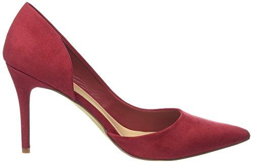 de Look Red Rojo Bright Mujer Tacón New Zapatos Slide zfdxn88t