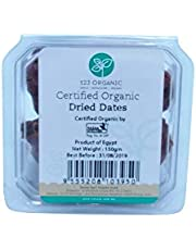123 ORGANIC Organic Dried Dates, 150g
