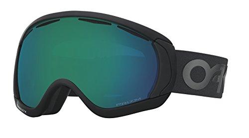 Oakley Men's Canopy Snow Goggles, Factory Pilot Blackout, Prizm Jade Iridium, Large