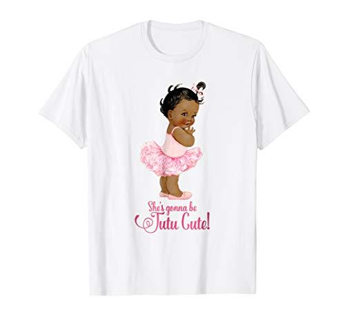Tutu Cute Baby Shower (Ethnic Tutu Cute Ballet Team Girl Baby Shower)