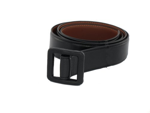 Metal Free Travel Belt (Large (40-42) Black/Brown by Thomas Bates (Image #6)