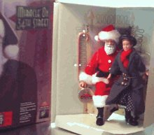 Century Limited Edition - 50th Anniversary Miracle on 34th Street Kris Kringle and Little Girl Limited Edition Doll Set