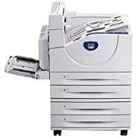 Xerox Phaser 5550DT - Printer - monochrome - Duplex - laser - A3/Ledger - 1200 dpi - up to 50 ppm - capacity: 2100 sheets - parallel, USB, Gigabit LAN - government