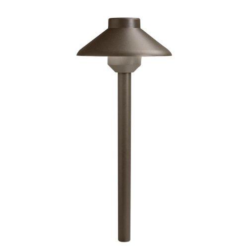 Kichler Lighting 15820 azt27 Llena 4 W 2700 KデザインPro LED 12 Vパス&スプレッドLandscape器具、テクスチャArchitectural Bronze Finish by Kichler Lighting B018A3A6L6