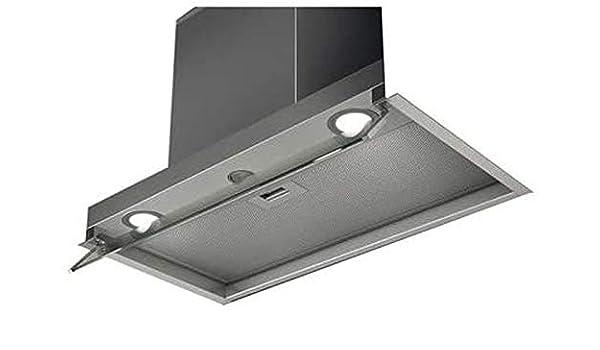 Elica Boxin IX/A/90 Encastrada Acero inoxidable 430m³/h - Campana (430 m³/h, Canalizado, 45 dB, 60 dB, Encastrada, Acero inoxidable): Amazon.es: Hogar