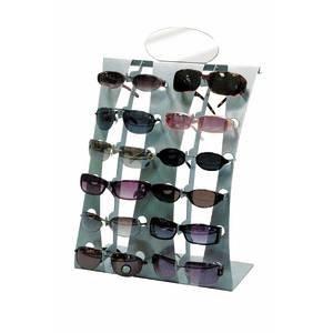 Silver Eyeglasses Display 13 x 6 x 18
