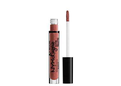 NYX Professional Makeup Lip Lingerie Glitter Bare With Me 0.
