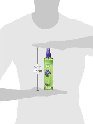 Garnier Fructis Style Curl Shape Defining Spray Gel, Curly Hair, 8.5 Fl Oz