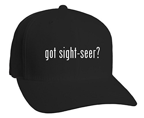 Got Sight Seer  Adult Baseball Hat  Black  Large X Large