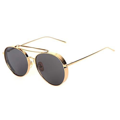 polarizadas Black Hombres Lens Sakuldes Diap Sol para Lentes Gold Frame Lens 100 Color de Gafas de UV400 Pink Gold de Aluminio Frame X0v0qwpR