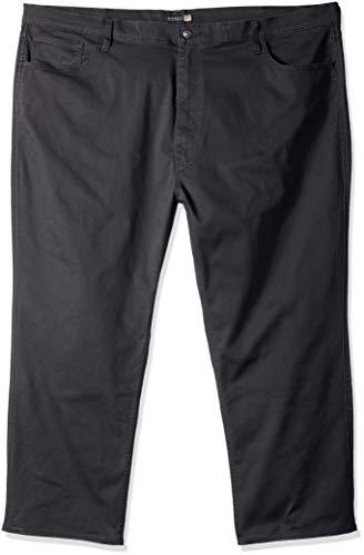 (Dockers Men's Big and Tall Classic Fit Jean Cut Pants, Steelhead, 44 32)