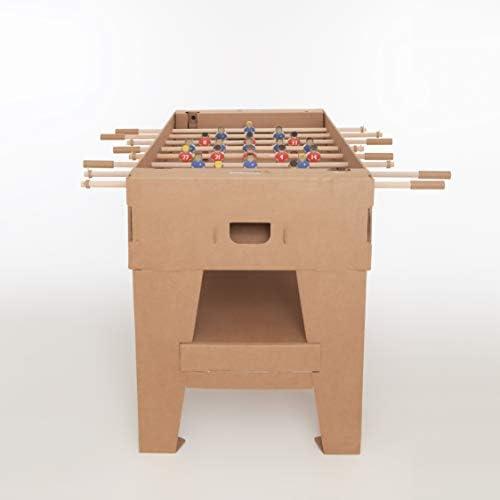 PlayPack Kartoni - Original - Futbolín en Cartón 100% reciclable - Tamaño Real: Amazon.es: Juguetes y juegos
