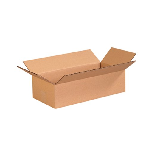 "Aviditi 1684 Corrugated Box, 16"" Length x 8"" Width x 4"" Height, Kraft (Bundle of 25) from Aviditi"