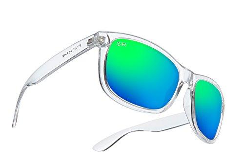 Shady Rays Signature Series Polarized Sunglasses Emerald, Ice