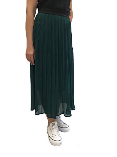 Vita In Verde Cottafavi Made 616 Italy Gonna Longuette Elastico Art Donna Plissè Anita qf1O6g6