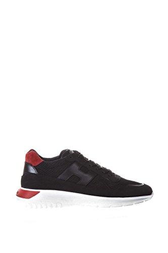 Hogan Sneakers Interactive3 Mod. Sports Gym3710aj10j4s206l Zwart Nubuck En Stof
