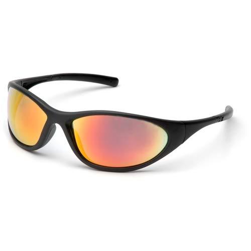 Pyramex SB3345E Zone Ice Orange Mirror Lens/Matte Black Frame