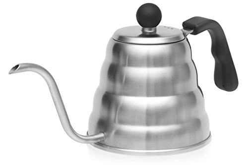 Pour Over Coffee Drip Kettle. Premium Stainless Steel Gooseneck Tea Kettle By Simple Kitchen Products.