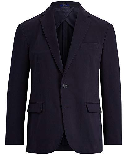 (Ralph Lauren Polo Men's Stretch Chino Sport Coat (Navy, 40L))