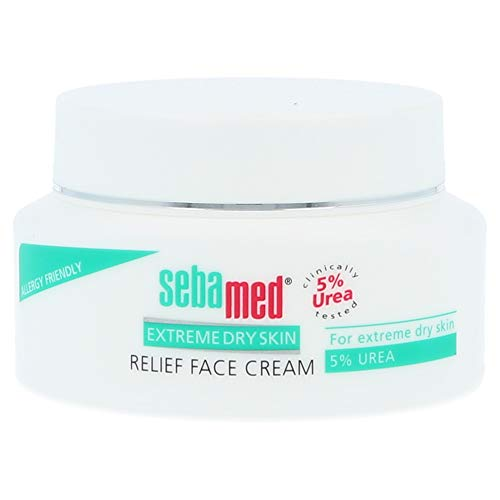 Sebamed Extreme Dry Skin Relief Face Cream 5% Urea. 1.7 oz (50mL)