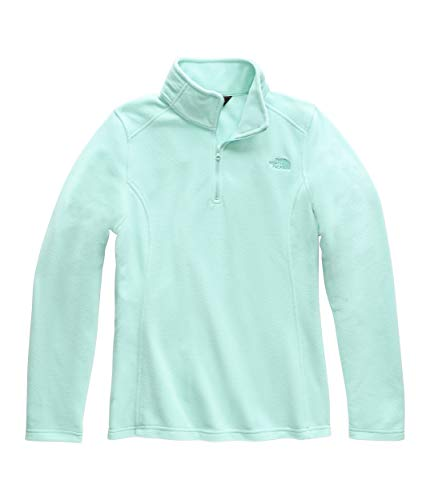 The North Face Women's Glacier ¼ Zip, Mint Blue/Ion Blue, Size XXL