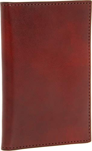 (Bosca Old Leather Collection-8 Pocket Credit Card Case, Cognac)