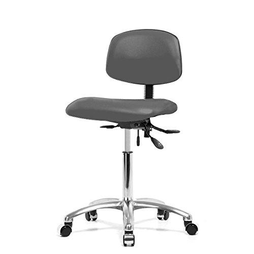 Dr 19 Gunmetal Wheel (Top Medical Multi-task Chair with Chrome Base 19