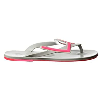 3a03e92742868 Mel By Melissa Shoes Love City 2 Grey Pink Thong Sandal Flip Flops ...